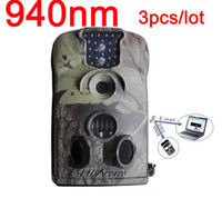 Little Acorn Yes Yes Ltl acorn 940NM 12MP MMS infrared trail camera MMS hunting camera wildview camera,3pcs lot Ltl-5210M