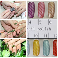 Wholesale Available Nail Art Magnetic Polish Tips Sheet Strip Slice Magnet Metallic Metalic Tool Trend Patter
