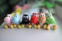 Super mario push toys 6inch Yoshi plush dolls Red Blue Green...