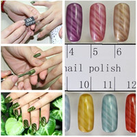 Wholesale Available Magnetic Polish Tips Sheet Strip For Nail Art Slice Magnet Metallic Metalic UV Tool