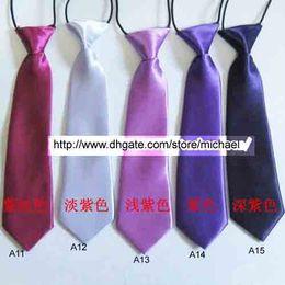Wholesale Children Ties Necktie Boys Girls Tie Baby Scarf gentry Neckwear free choose colour