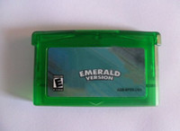 Wholesale Hot Selling Game Card Game Cartridge Emerald version game boy via EMS mix order save file