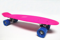 Wholesale quot Penny complete Original Plastic Banana Board Mini Crusier Pink penny Skateboard
