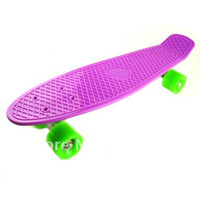Wholesale quot Penny Cruiser Skateboard ABEC Board Save Copmlete plastic fish sharp penny board