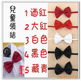 Wholesale Bow Tie Boys And Girls Students Bow Tie Fashion Bow Baby Tie cm