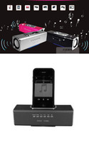 Wholesale MUSIC ANGEL Mini Portable Speaker Udisk Micro SD TF USB MP3 MP4 For Iphone4 Ipod Touch s FM Radio