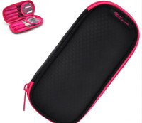 Wholesale 2012 New Hot Cosmetic Make Up Bags for Women High Density Nylon Portable Black Rose Nail Scissors