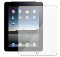 Wholesale Crystal Clear Screen Protector Clear Film for Apple iPad New iPad with Retail Package