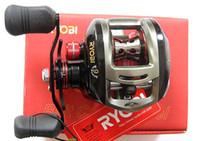 Wholesale RYOBI All Metal Bait casting Fishing Reel Aquila Low Profile Reel BB bait casting reels hi