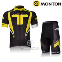 Wholesale 2012 Castelli Team Short Sleeve Cycling Wear Set S M L XL XXL XXXL
