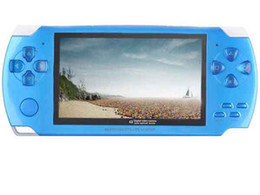 Wholesale 4GB GB Game console MP4 MP5 Player Free games FM Ebook with Retail box PC