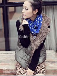 Wholesale 2012 New Women s Vest Korean Cotton Vest Double sided Wear Europe Vest Lamb Wool Thick Vest LYZY