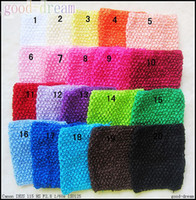 Wholesale Baby headband headdress inch crochet head hand Girls headband hair accessories Child Headbands