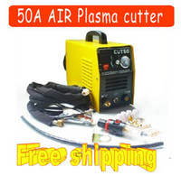 Wholesale NEW Convenient type digital display inverter dc air plasma cutting machine amp plasma cutter with