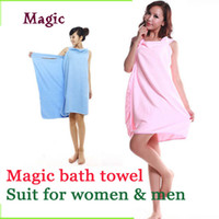 Wholesale microfiber Creative Variety Magic bath towel color in stock