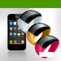 Wholesale Caller ID Bluetooth Vibrating Bangle Bracelet Bluetooth Wrist Watch G for iphone s g phone