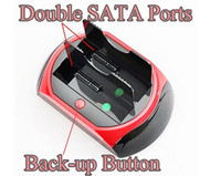 """3.5'' other 480Mbps HDD Dual Docking Station USB 3.0 3.5"""" 2.5"""" IDE SATA HUB Supports SATA IDE Hard Drive Cards"""
