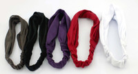 Wholesale Fashion Cloth Headbands Hairband Cap Headwear Mix colors Original