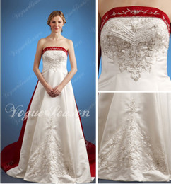 Wholesale Exquisite Embroidery Long Tail Wedding_WE93