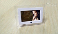 Wholesale 7 inch LCD TFT Digital Photo Frame With MP3 MP4 Player High Resolution Displa pc