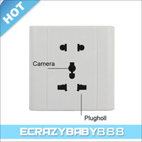 Wholesale Socket Style Voice activated USB Hidden Spy Camera