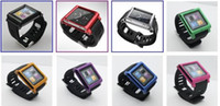 Wholesale LunaTik watch band Aluminum Wrist Watch protective Case for iPod Nano case mix color