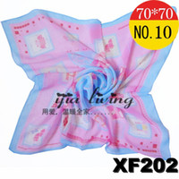 Silk Scarf Face Cloth Chiffon Gorgeous Light Purple New Arri...