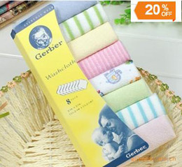 Wholesale High Quality baby handkerchief bath towel sweat towel washcloth infant towel