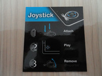 Wholesale 10pc CPAM free Game Controller Analog Joystick for iPad iPad Transparent Gray