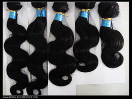 Wholesale Peruvian Remy Mix Length quot quot Hair Weft Weave Color B Human Hair Extension Bodywave Retail