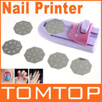 Wholesale Nail Art DIY Pattern Printing Manicure Machine Stamp Stamper Tool Set H8020