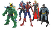 The Avengers Captain America Spiderman Thor Batman Hulk Wolv...