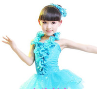 Wholesale Children s stage costume dance Latin skirt ballet skirt costumes