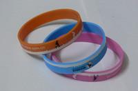 Jelly, Glow band rubber bracelet lot - 500pcs a customized silicone rubber wristbands EG WBP002 cheap rubber hand bands custom design armbands promotional bracelets