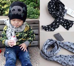 Children Baby Neck warmers skull cotton Scarves Wraps baby Bandelet Muffler Kids Necke