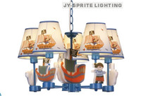 american contemporary art - and retail creative brief American pirate ship lights L pendant children room lighting