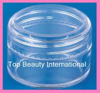 Wholesale 20g cosmetics empty jar loading powder cream cosmetics pakcaging glitter container nail art tool