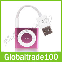 Wholesale USB Data Sync Charger Transfer Cable for Apple iPod Shuffle G G G Free DHL Shipping