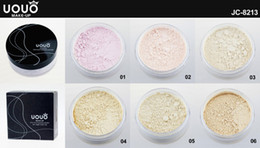 Wholesale UOUO Colors Lithe and Flawless Loose Powder Foundation Comestic Face Make Up JC8213