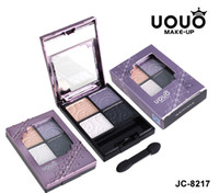 4 colors Palette 4 models UOUO 4 Color Palette 8 Model Make up Brush Cosmetic Eye Shadow Eyeshadows JC8217 Free Shipping