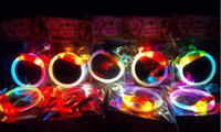 Wholesale Creative LED Luminous Hand ring luminous hand ring flash bracelet
