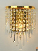 Cheap Crystal wall lamp Best Art Deco Wall Mouted berth lamp