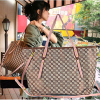 Wholesale SIMITTER new fashion S pattern simple handbag shoulder bag PU Leather