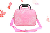 Wholesale High Quality Inch Laptop Bag Epiboly Shoulder Bag Handle Bag Multi_Colors Pritting Flowers Bran