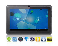 Wholesale Ultrathin quot AllWinner A13 Capacitive touch Screen Android MB GB Camera hours Tablet PC
