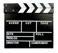 Wholesale Movie Director Clapperboard Clapper Board Clap Stick TV Film Slate Cut acrylic