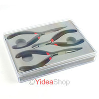 Wholesale 6pcs DIY Beading Black Wire Bead Tools Pliers Jewelry Accessories