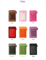 Wholesale Cell Phone Bag Suede Leather Microfiber Pouch Bag With Card Slot amp Belt For iPhone G S colors