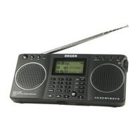 FM/FML mini speaker rechargeable - DEGEN DE1128 FM MW SW GB in Portable Intelligent Multifunctional LED STEREO Radio DSP Receiver Mini Handle Bands A0908A