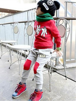 Wholesale Children s Activewear kids suits boys and girls clothing suits Sweat suits sportwear